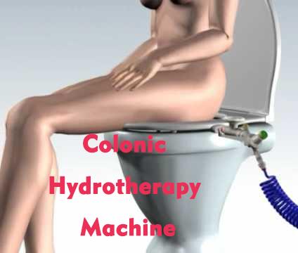 lady clogs colonic machine