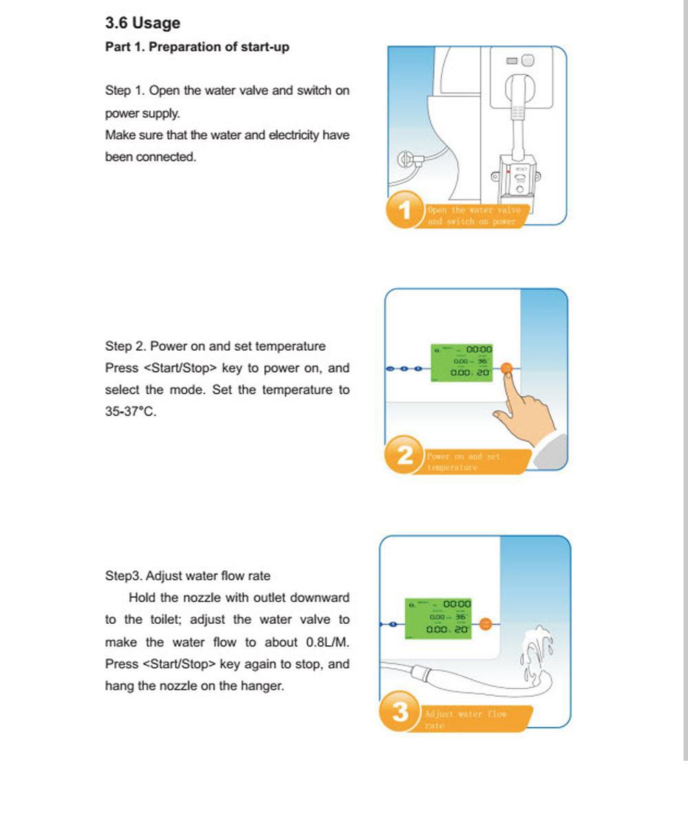 portable home colon irrigation device